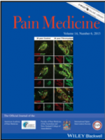 Pain Medicine Cover